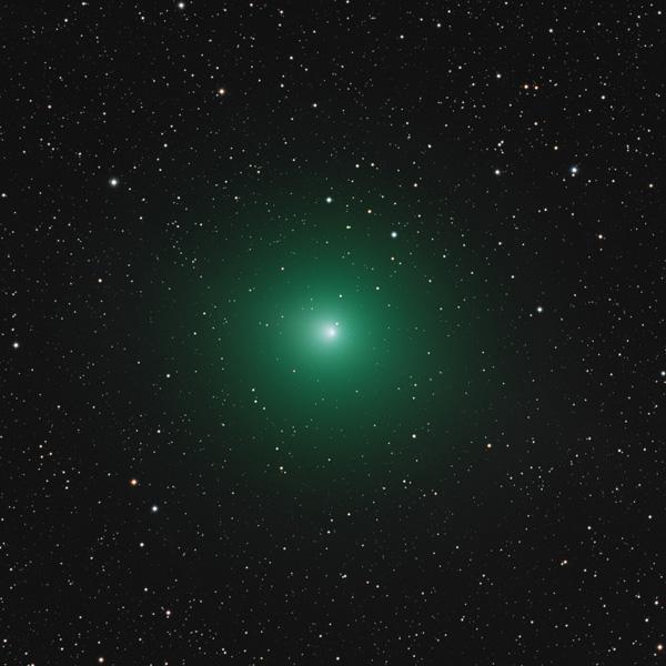 Astrophotography Comet Wirtanen 46P Martin Rusterholz