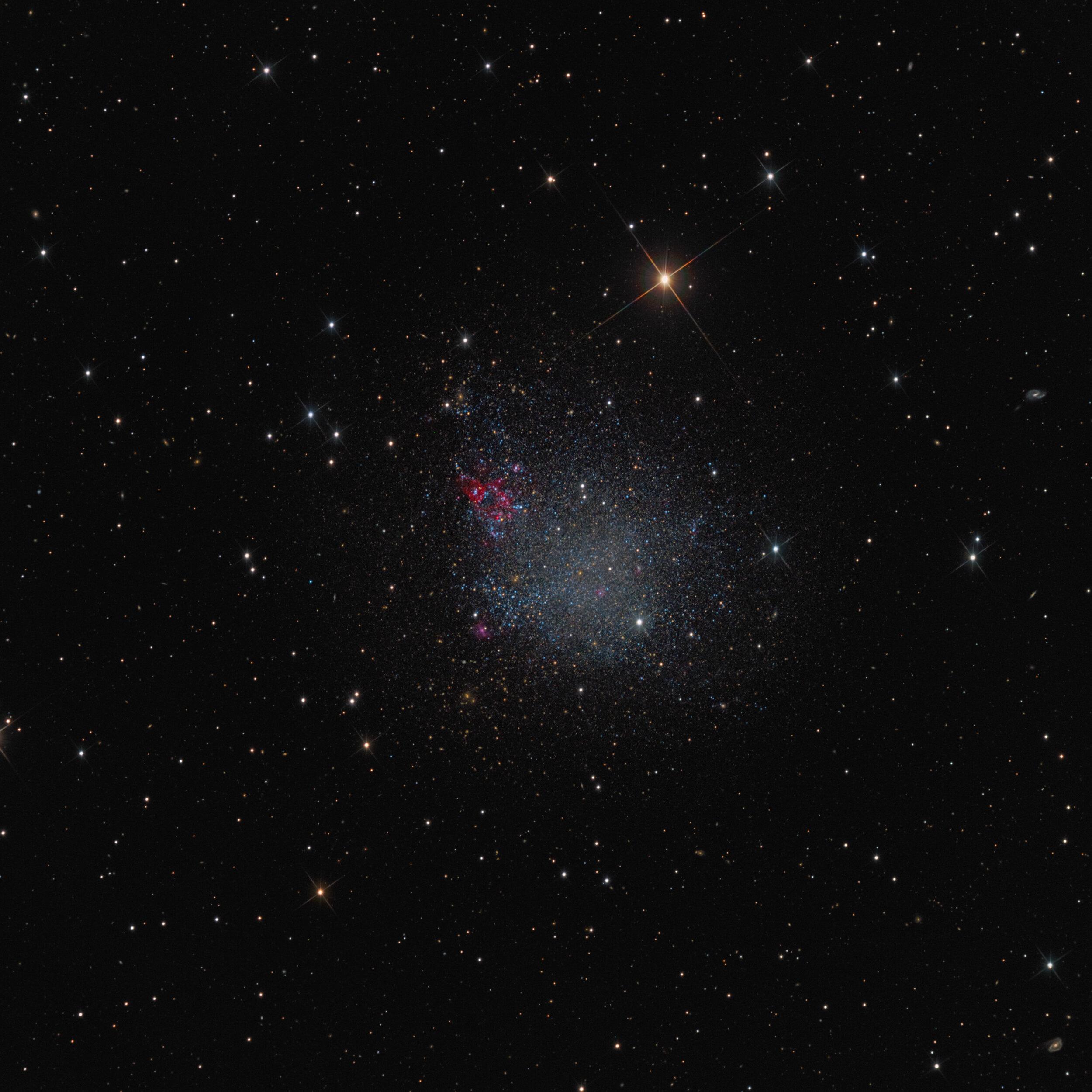 IC1613 Galaxy Astrophotography Martin Rusterholz