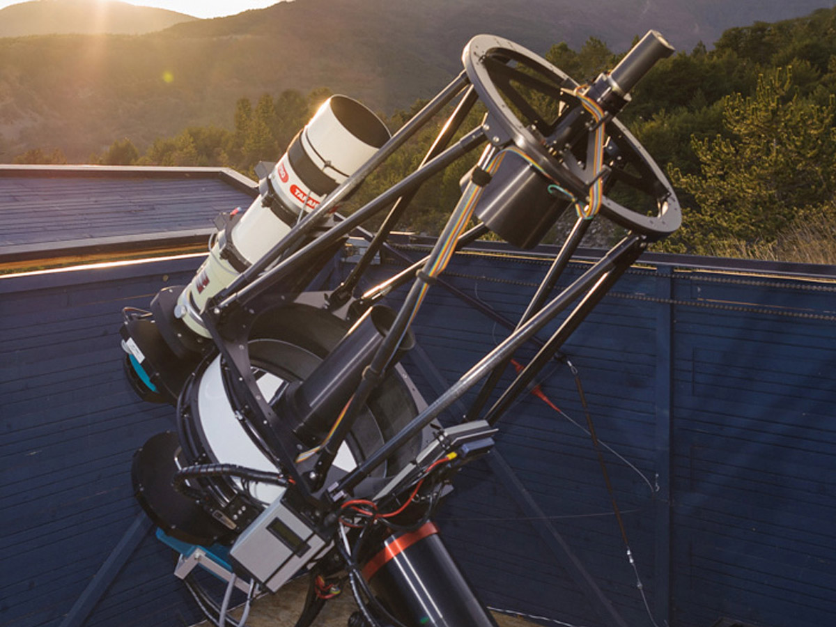 RCOS Carbon Truss 14.5 inch Telescope for Astrophotography