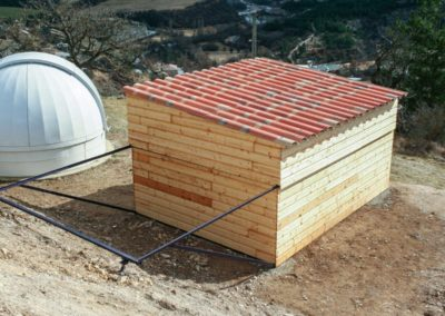 Roll-off Roof Observatory Martin Rusterholz - the new observatory is ready