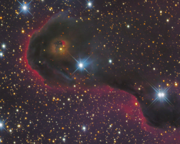 Elephant's Trunk Neb­ula (IC 1396A)
