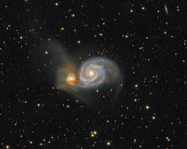 Whirl­pool Galaxy (M51)