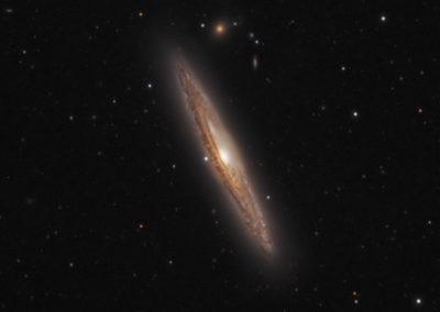 Silver Streak Galaxy (NGC4216)