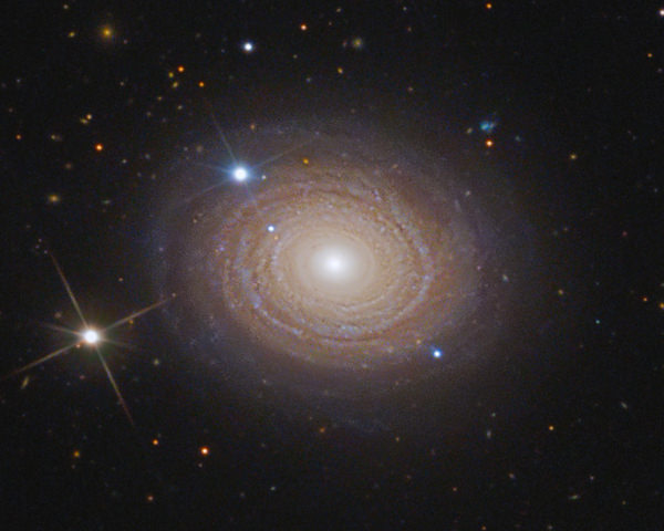 Whir­li­gig Galaxy (NGC 488) in Pisces