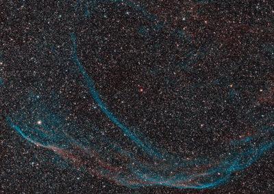 Little Veil Nebula in Cygnus