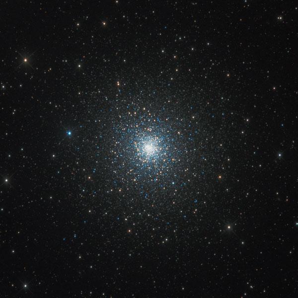 Globular Clusters - M92 Cluster in Hercules Astrophotography Martin Rusterholz