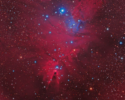 Christ­mas Tree Cluster (NGC 2264)